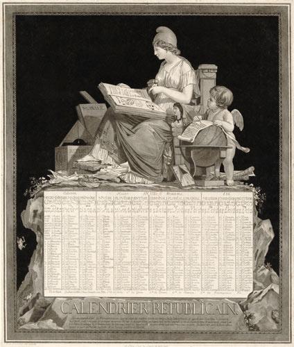 Calendrier républicain de 1794