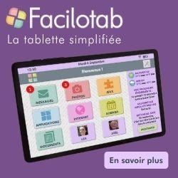 Tablette pour seniors Facilotab